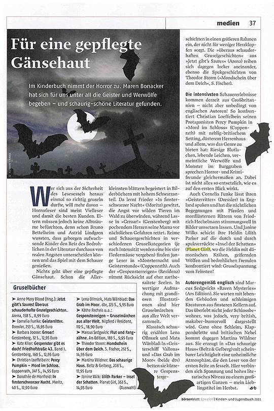 Börsenblatt Spezial; Kinder- und Jugendbuch 2011
