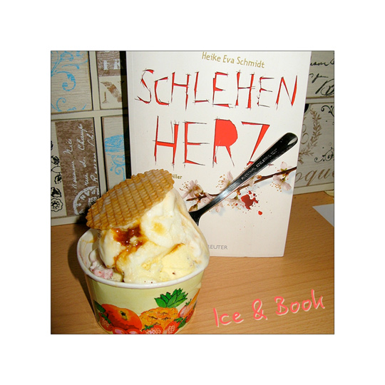 Schlehenherz: books and ice