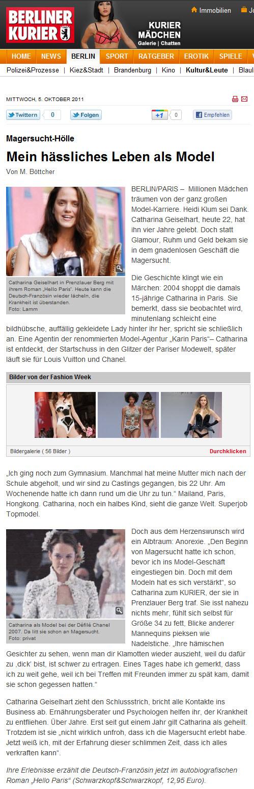 Berliner Kurier Online Ausgabe