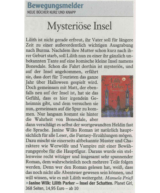 Augsburger Allgemeine; Neue Bücher kurz und knapp
